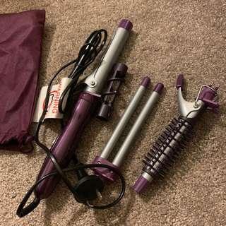 VS Sassoon hair iron set