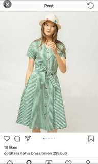 Dotdtails Katya Green Dress