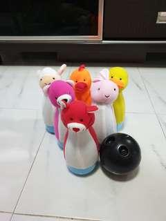 Bowling baby toys set