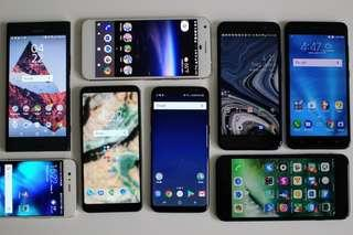 Buying software problem and locked Android phones