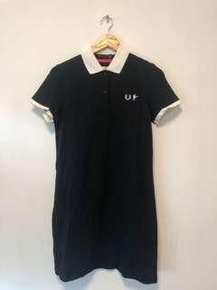 Fred Perry crossover日版 女裝polo dress 100%新