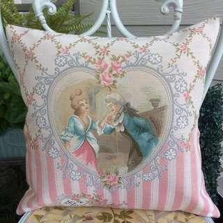 English Pillow case and insert