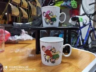 Chinese child in winter cups (2pcs)