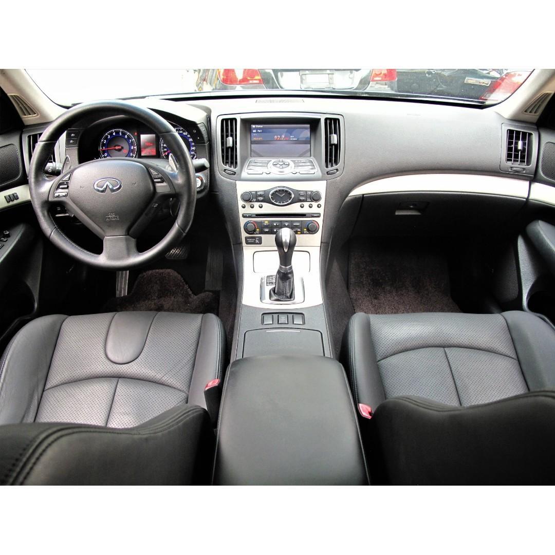 2007年 INFINITI G35 深灰色 3.5cc 電動天窗 免KEY  一手車 原鈑件 原廠保養 SAVE認證111