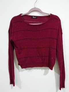 *PROMO 3 FOR RM30* Knit Crop Top