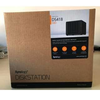 DS418 SYNOLOGY - BNIB - NAS - Priced to Sell !!!!!