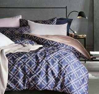 4pcs/set 100% Egyptian Cotton Moroccan Style Duvet Set