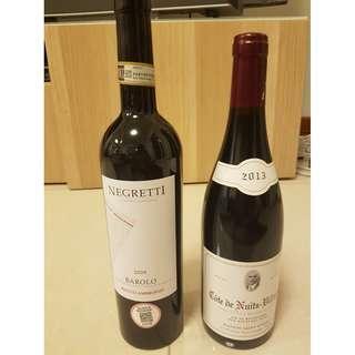 Premium Red Wine - 2 bottles