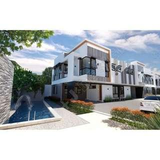 House and Lot with SWIMMING POOL For Sale Quezon City QC NEAR GREENHILLS Brand New 4 Bedrooms NEAR CUBAO SCOUT AREA QUEZON AVE Townhouse RFO Ready For Occupancy with GARDEN