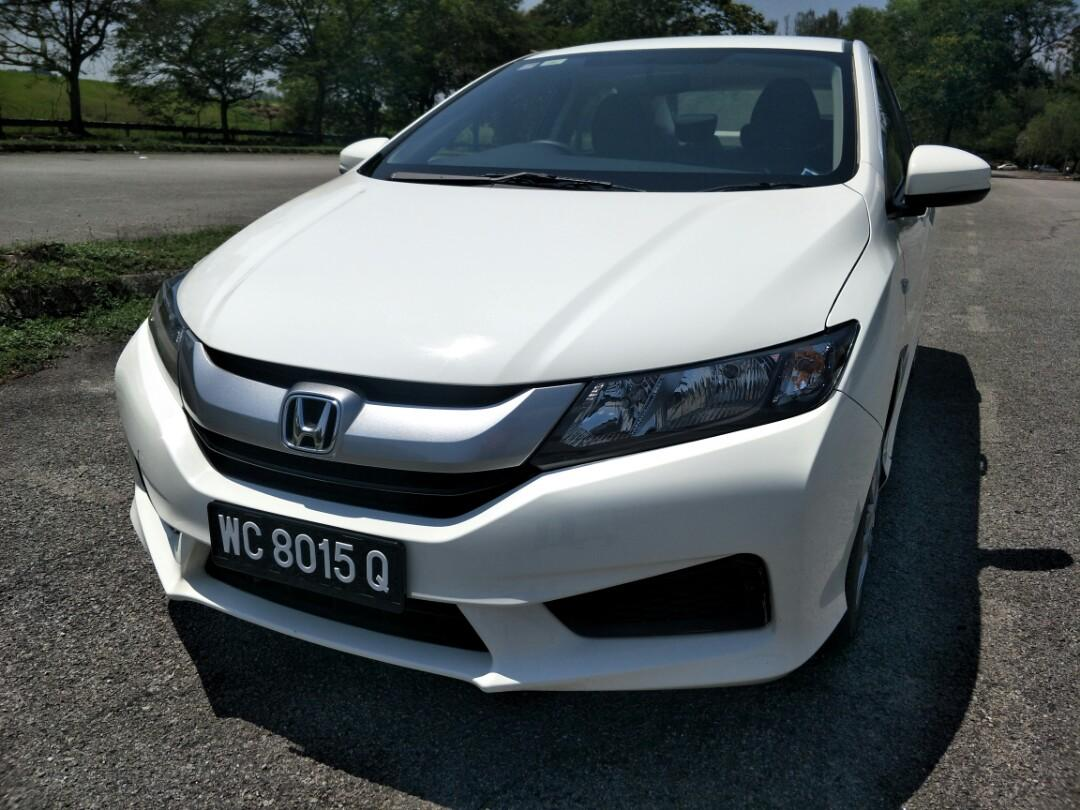 2016 honda city 1.5 (a) FULL SERVICE RECORD, LOW MILEAGE, UNDER WARRANY (JUST BUY AND DRIVE)