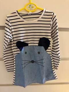 Preloved baju kaos dress anak perempuan (girl clothes)