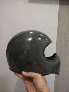 Helm cakil vigano hijau army