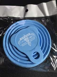 New - Reusable plastic cup - HK Standard Chartered Marathon 2019 Gift