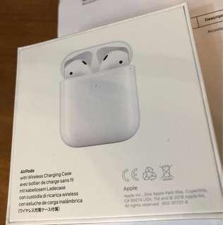 Apple AirPods Wireless Charing Case 蘋果