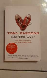 Starting Over by Tony Parson