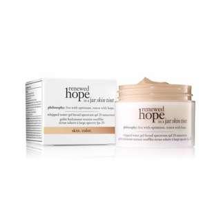 Philosophy renewed hope in a jar skin tint spf 20 30ml 4.5 nude