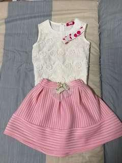 Girl Dress - 2 pieces set