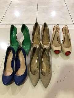 Aldo, Zara, Nine West, Charles & Keith