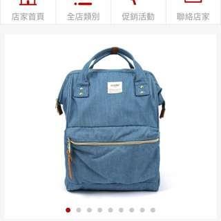 (降價)anello丹寧款後背包