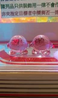 星之卡比Kirby水晶擺設公仔裝飾物小禮物