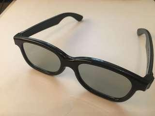 3D glasses for movies