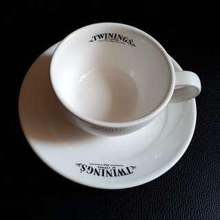 Twinings Tea Cup with Saucer