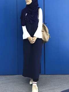Korean blouse dress
