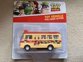 Toy story Disney 車仔 兒童 玩具 紅色小巴 的士 綠色小巴 警車