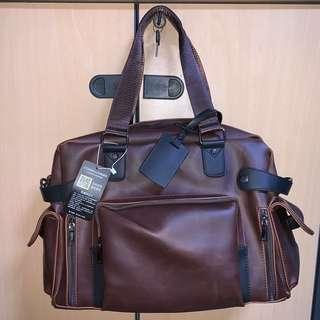 Stylish brown smart casual bag