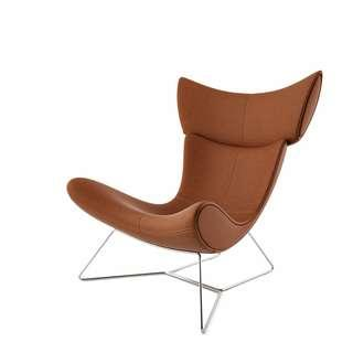 Imola chair leather (brown)