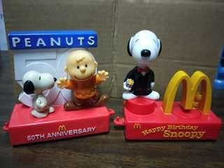 🚚 Snoopy史努比50週年花車遊行系列模型玩具
