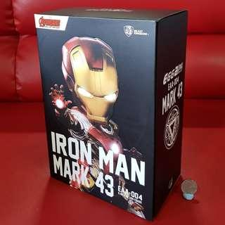 Iron Man Mark 43 EAA-004 Beast Kingdom Egg Attack