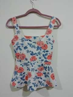 *PROMO 3 FOR RM30* Floral Top