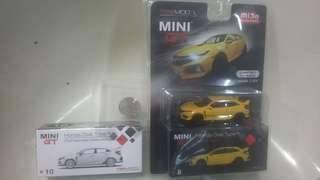 MINI GT Honda Civic Type R 模型跑車 两款