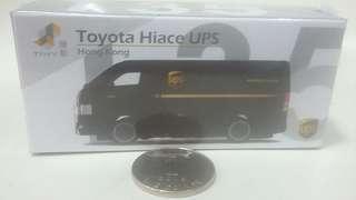 TINY Toyota Hiace UPS 模型貨車