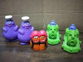 🚚 麥當勞系列玩具擺飾組