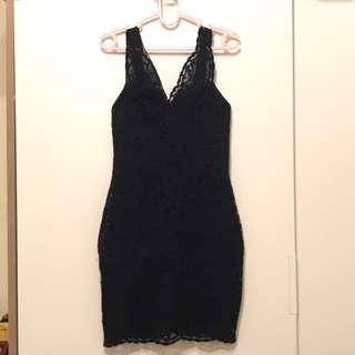 Topshop Brand New Lace Bodycon Dress