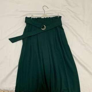 🚚 Lylex culottes in forest green