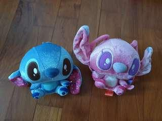 [New] Bling bling couple Stitch Soft Toys