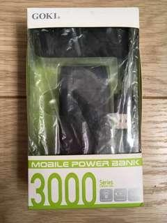 GOKI Mobile Power Bank 3000 Series