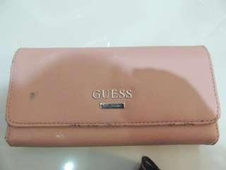 Dompet Guess (with tali rantai)