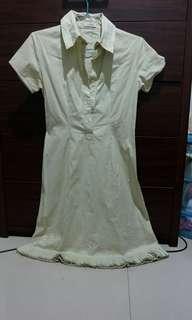 Ori Biyan creme dress