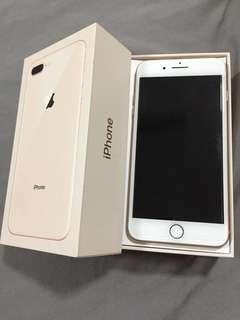 iPhone 8 Plus Gold 64gb Hybrid unlock FULL set