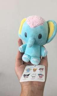 ELEPHANT MY MELODY KEYCHAIN PLUSH