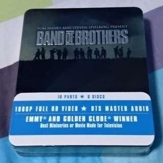 Band of brothers blu ray limited edition steelbox war drama
