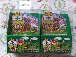 Sanrio Keroppi 2017 盒裝 MEMO 紙 每盒$25