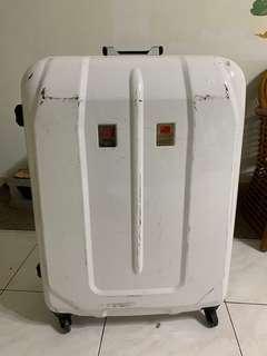 白色-行李箱(硬殼)