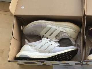 e8fa97edff1 Adidas Ultra Boost Triple White 1.0