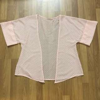 Pink Kimono Outer