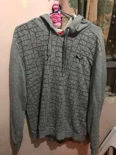 Puma灰色珠地衛衣